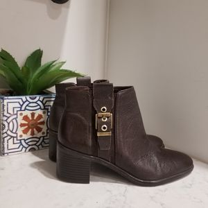 👢FRANCO SARTO LEATHER ANKLE BOOTS